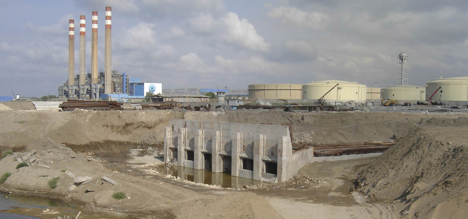 Water Intake & Outfall System of Neka Combined Cycle Power Plant