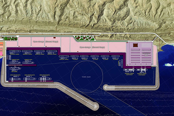 Master Plan and Basic Design of Parsian Industrial Port