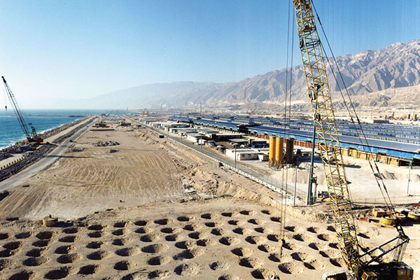Dynamic Compaction of Assaluyeh Petrochemical Land (Phase 2)