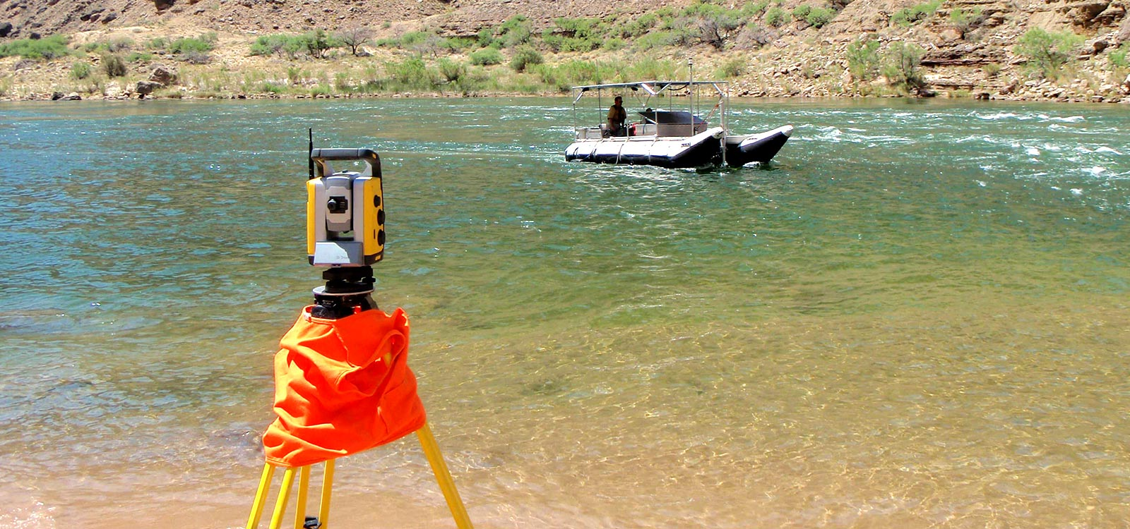 Surveying and Hydrography of Sefidrud Dam Reservoir